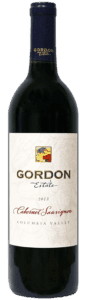 Gordon Estate 2013 Cabernet Sauvignon Columbia Valley