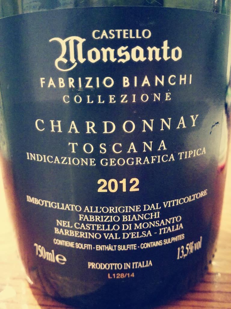 Castello di Monsanto Fabrizio Bianchi 2012 IGT
