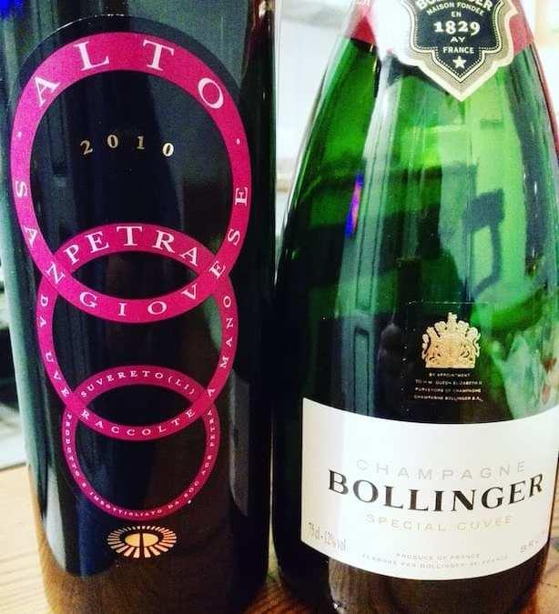 Petra Alto 2010 contro Bollinger Special Cuvée