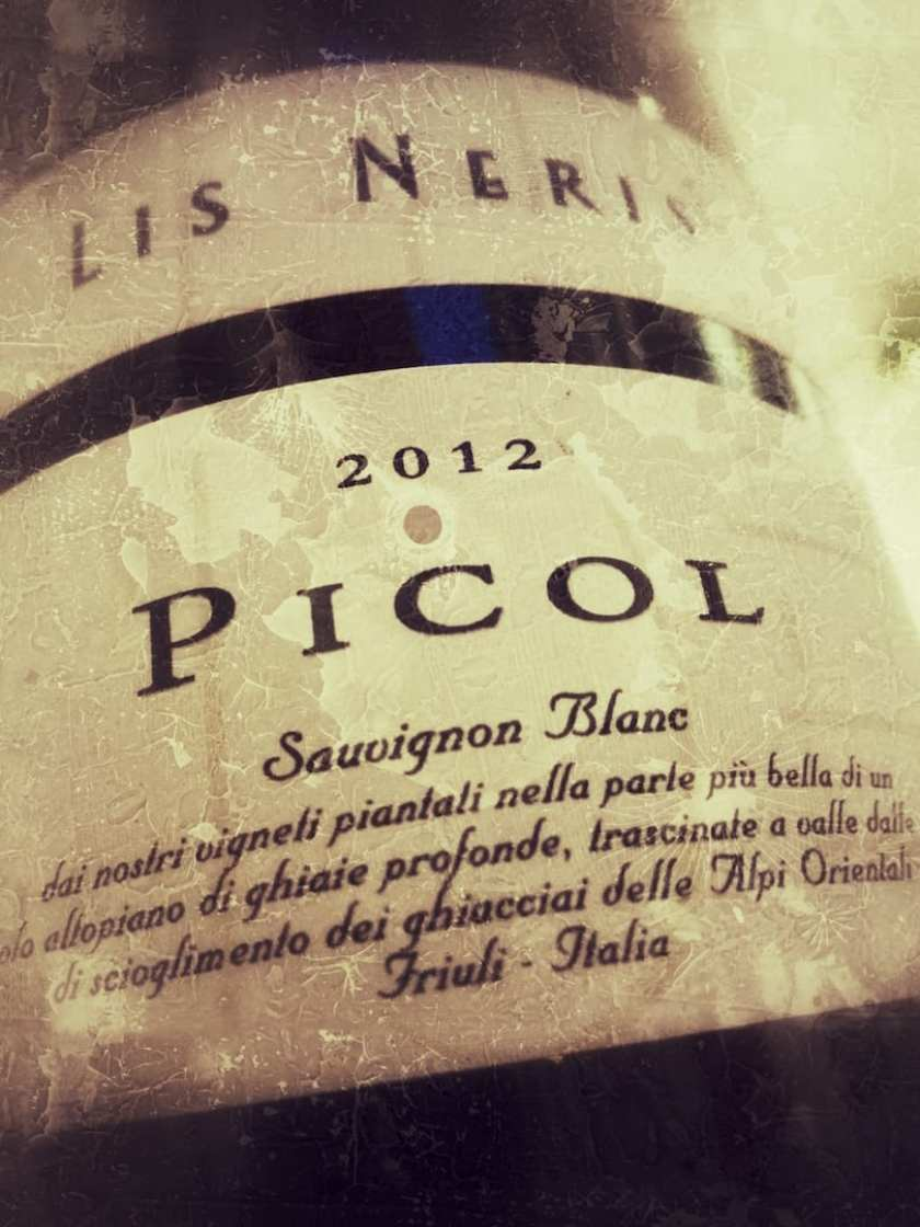 Lis Neris Picol Sauvignon