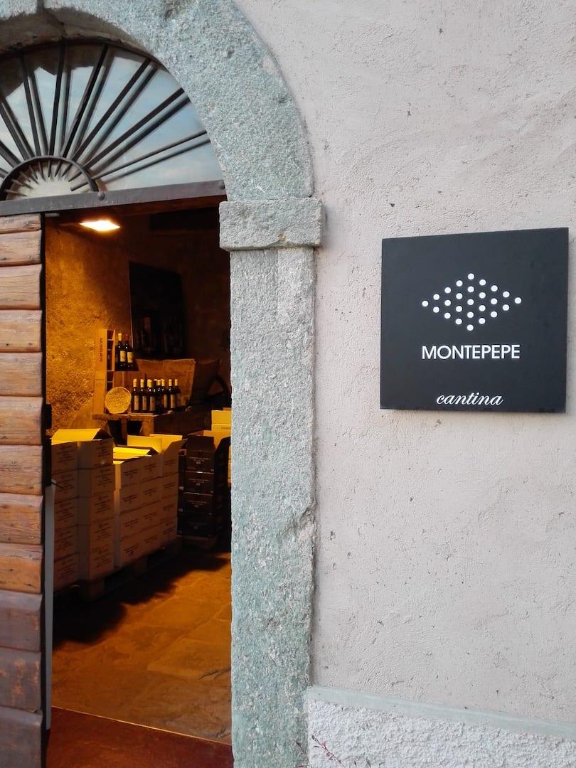 Ingresso cantina Montepepe