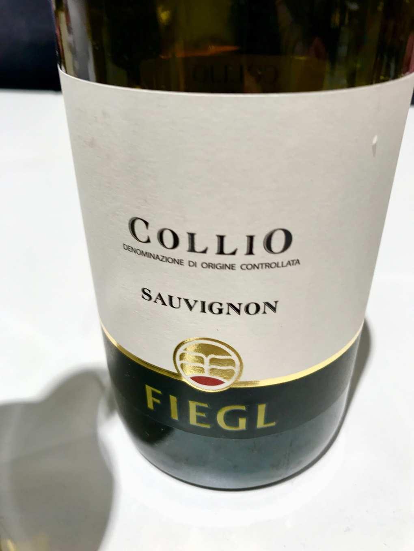Fiegl Sauvignon 2015 a Vinoè 2016
