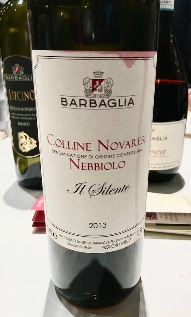 Sergio Barbaglia Nebbiolo 2013 a Vinoè 2016
