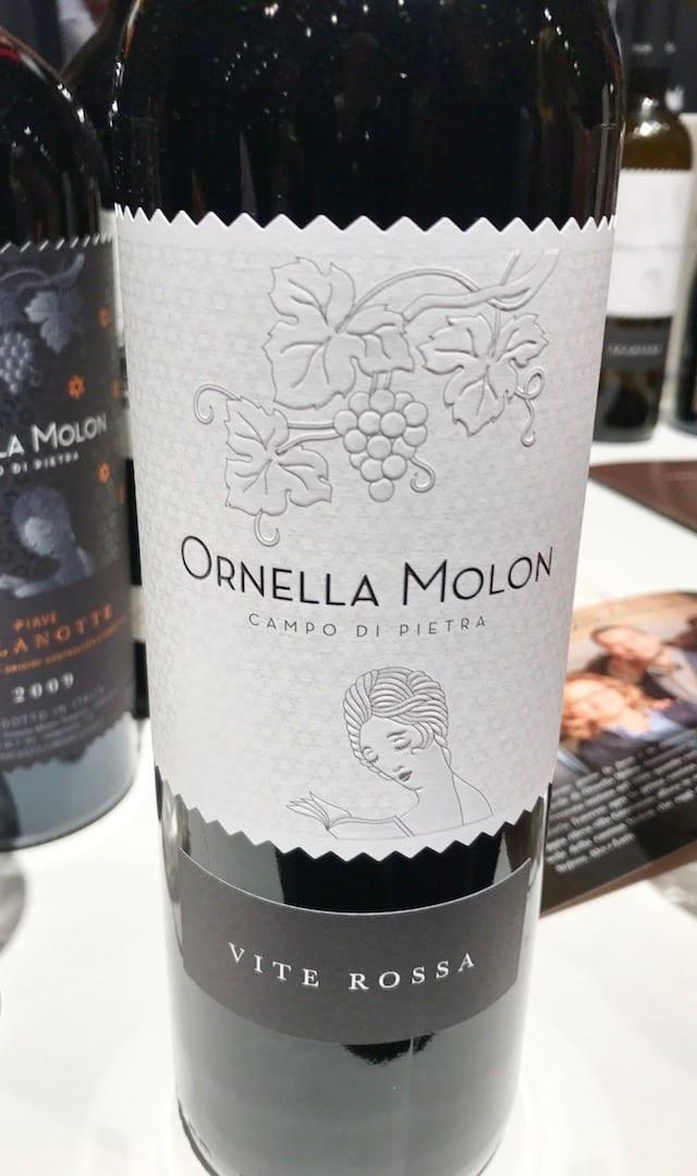 Ornella Molon Vite Rossa 2011 a Vinoè 2016