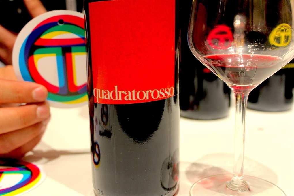 OT wine Quadrato Rosso 2015 a Vinoè 2016