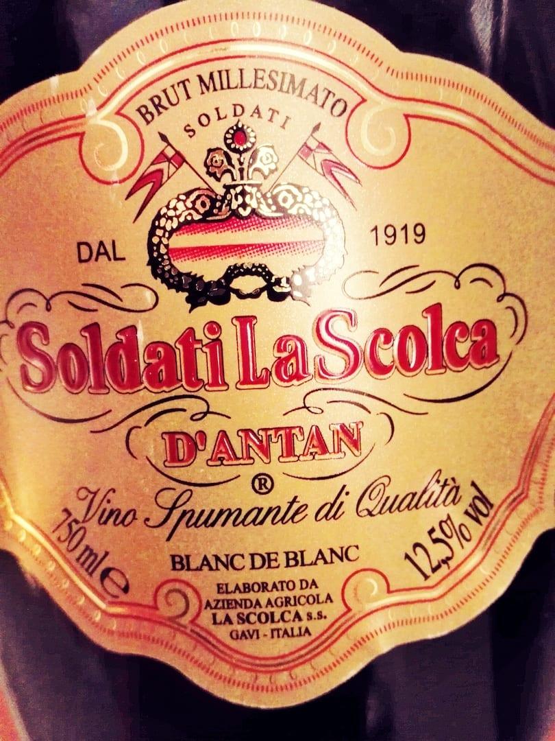 Bollicine La Scolca d'antan 2000