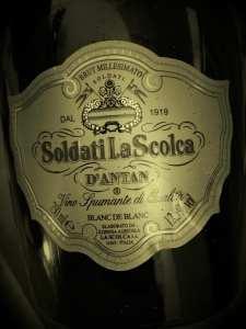 La Scolca d'antan 2000 etichetta frontale