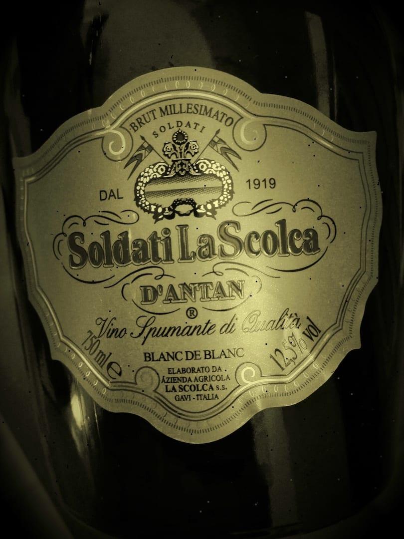 La Scolca d'antan 2000 etichetta