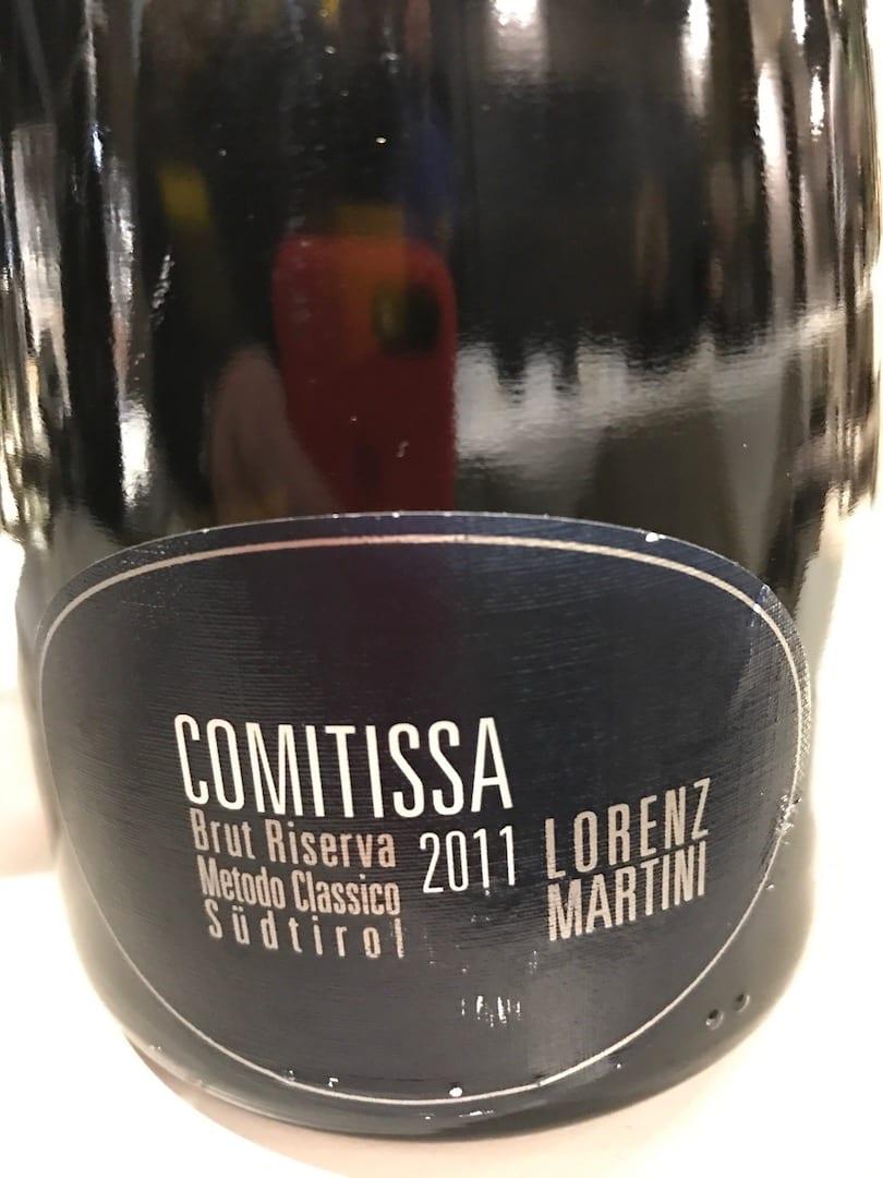 Bollicine di Lorenz Martini Comitissa 2011