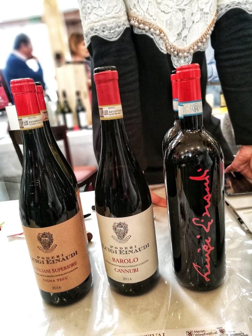 Poderi Luigi Einaudi al Merano Wine Festival 2018