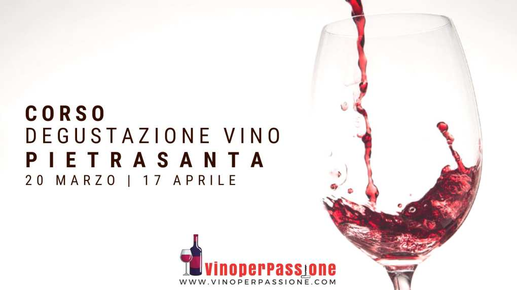 Corso degustazione vino Pietrasanta