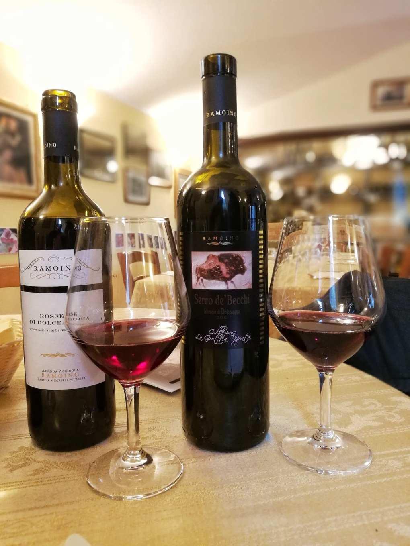 Vini rossi del Ponente Ligure di Ramoino
