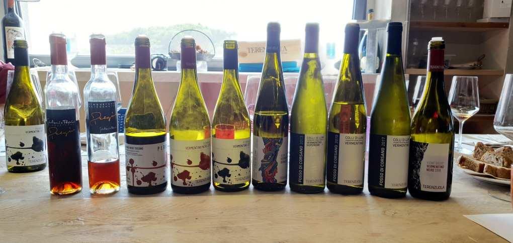 Il parterre di vini di Terenzuola