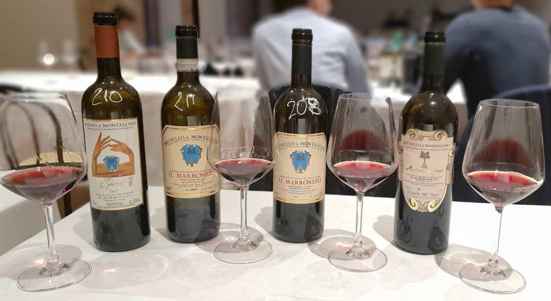 I vini del Marroneto Sangiovese Purosangue 2019