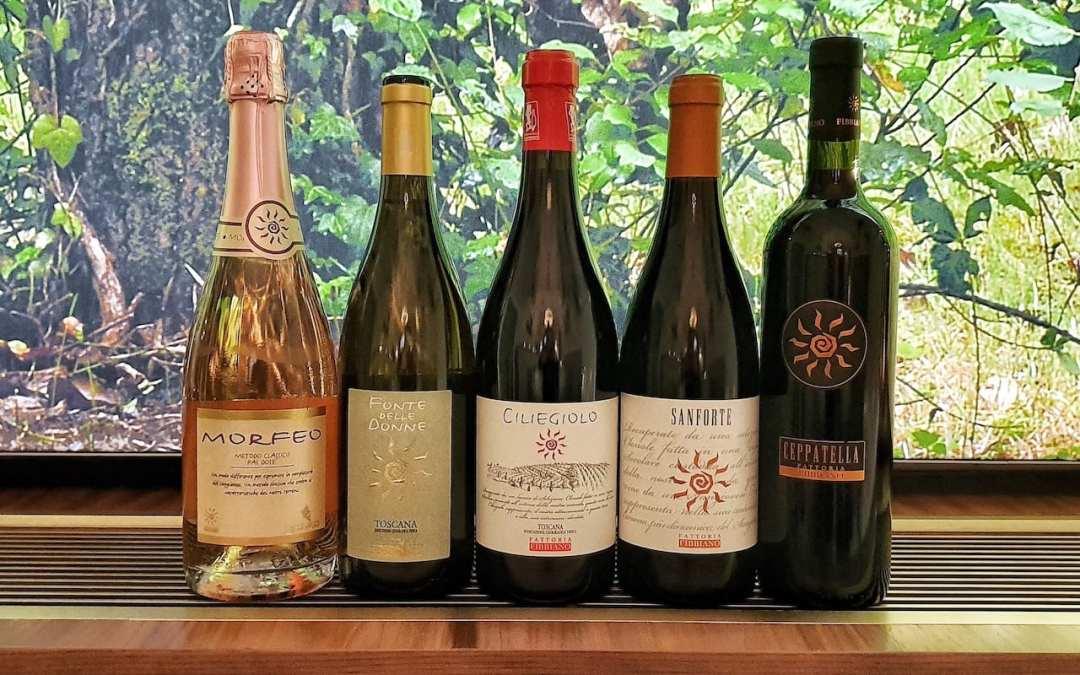 I vini di Fattoria Fibbiano a pranzo al Ristorante Savini di Firenze