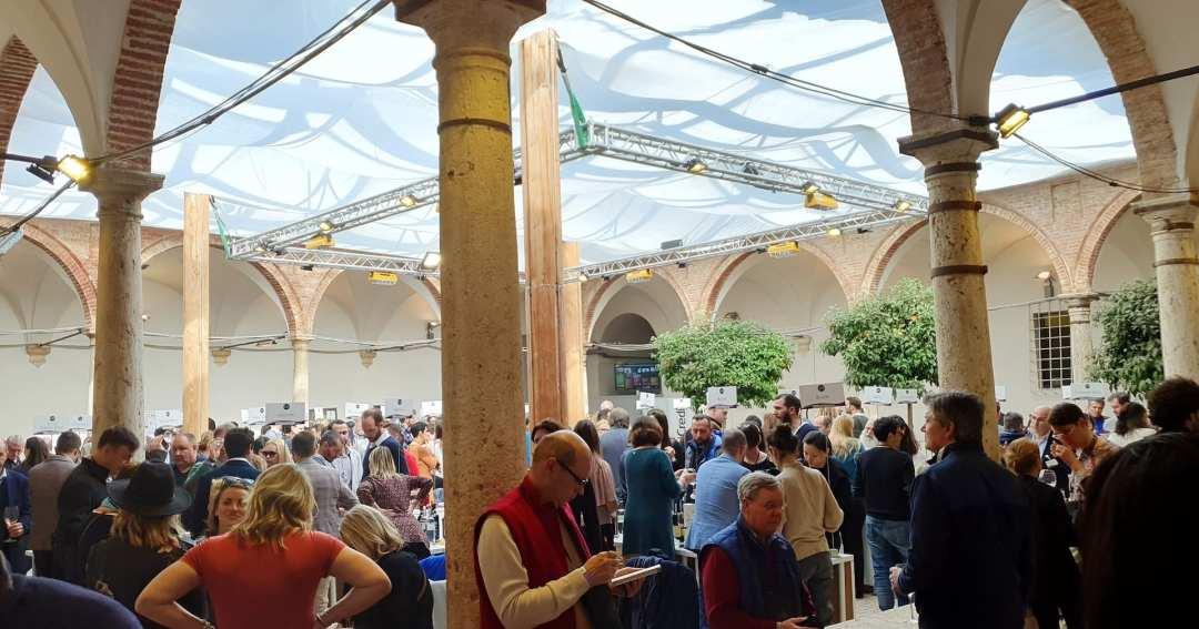 Il Chiostro del Museo Civico ed il Complesso di Sant'Agostino di Montalcino