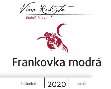 Frankovka modrá r. 2020