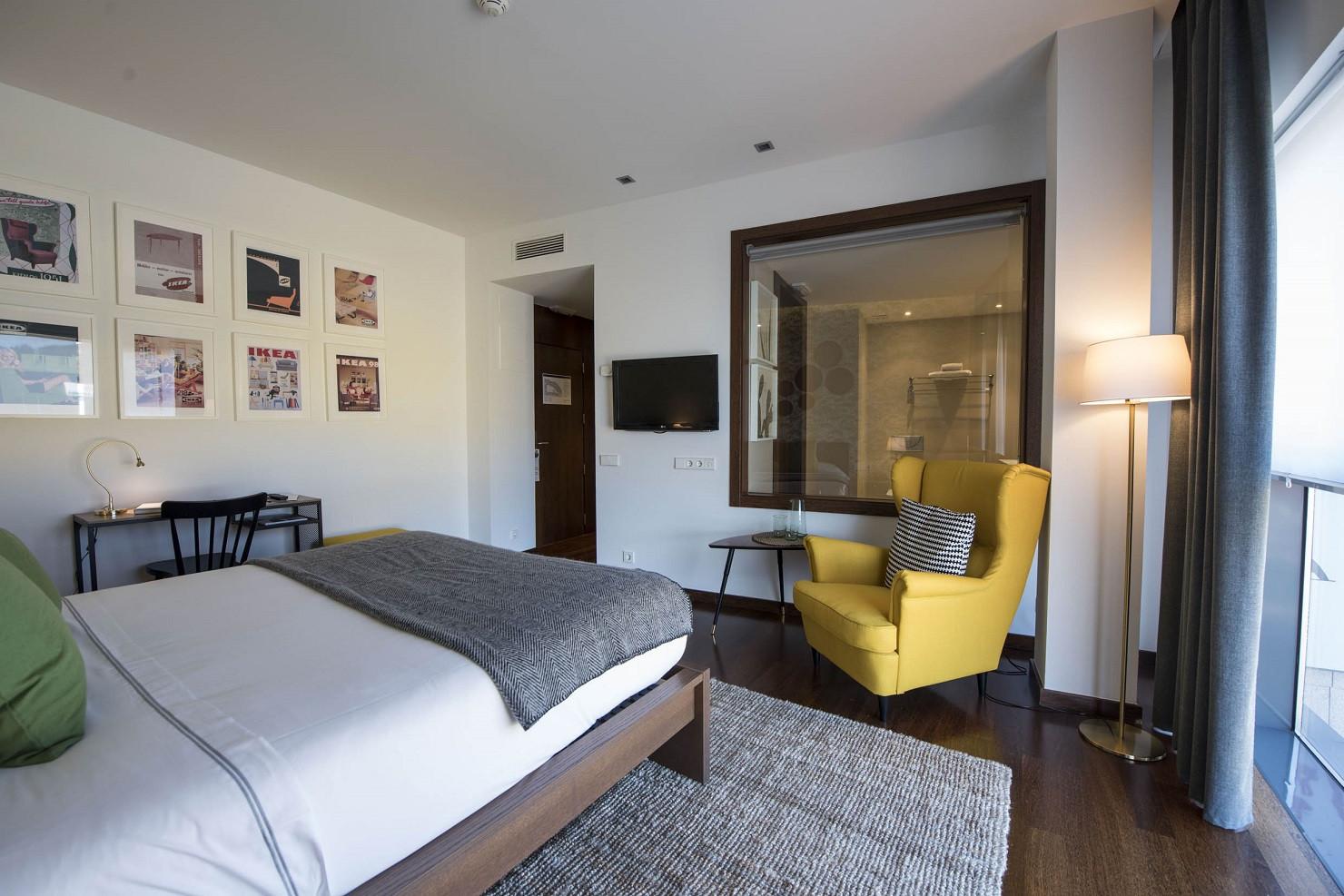 Hotel Carrís Marineda A Coruña Estrena Una Renovada Ikea Room