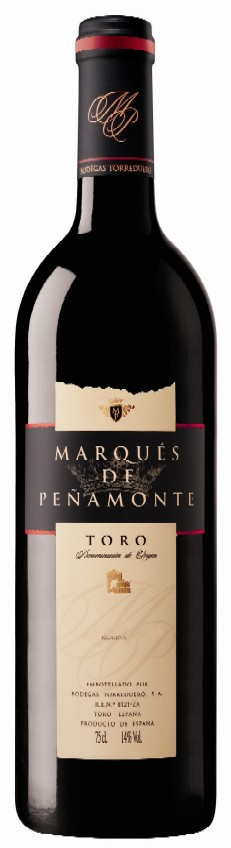 Presentación del vino Marques de Peñamonte Reserva 2003
