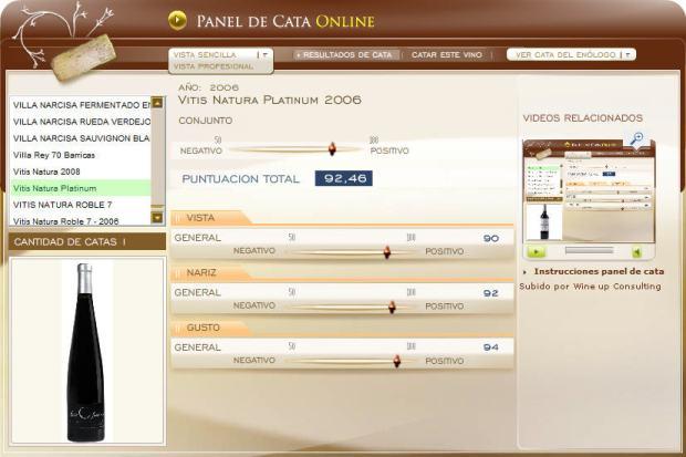 cata en el panel de cata online de ecatas.com