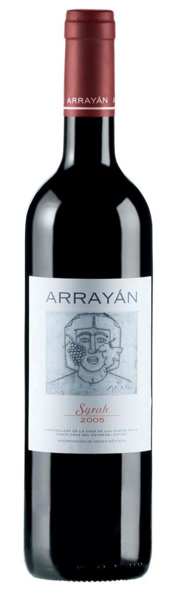 Arrayán Syrah 2005 Ficha