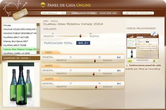 imagen el panel de cata online en www.ecatas.com