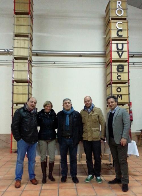 Pedro López, Isabelle Minot, Luis Jiménez, Elías López, Juan Antonio López