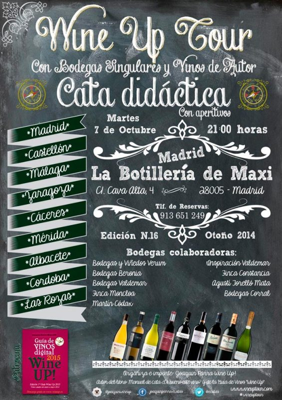 Wine UP Tour en Madrid