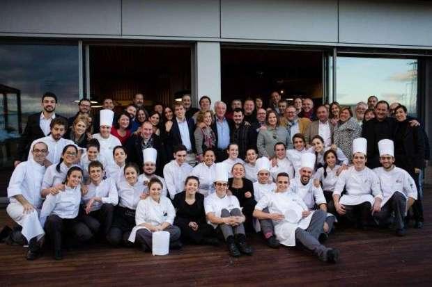 28/11/15 Evento de Basque Culinary Center en Bodegas Valdemar, Oyón, Álava. Foto de James Sturcke