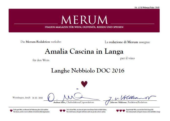 Langhe Nebbiolo 2016