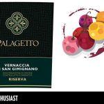 La Vernaccia di San Gimignano Riserva 2014 Palagetto su WineEnthusiast