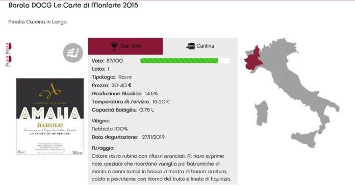 Barolo Le Coste di Monforte 2015