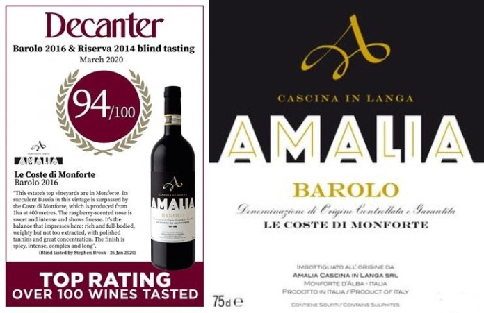 Barolo Le Coste di Monforte 2016 Decanter