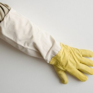 Včelárske rukavice kožené Gold