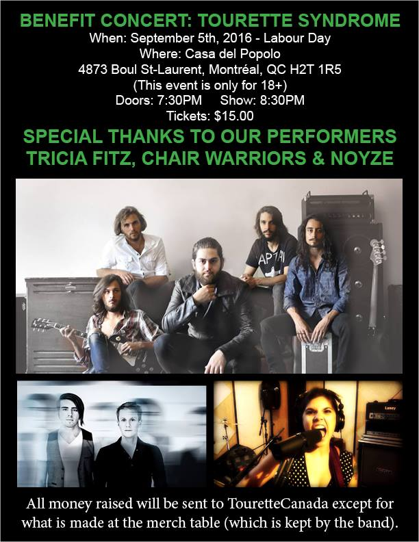 Good Music, Good Cause – Benefit Concert: Tourette's Syndrome
