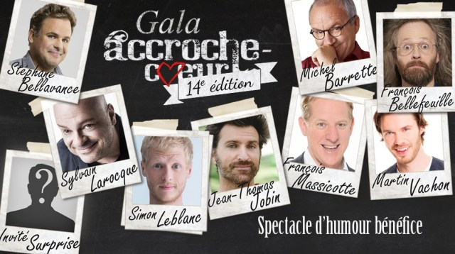 Laughter. With a Cause : Gala Accroche-Coeur fundraiser