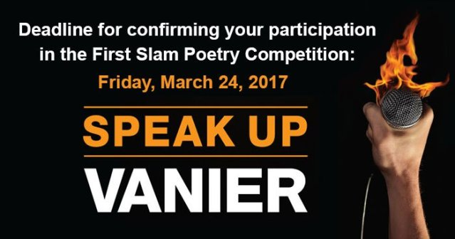 Speak Up Slam Poetry Competition Results