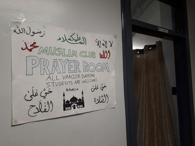 The Vanier Muslim Student Association Club