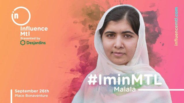 Influence Montreal X Malala