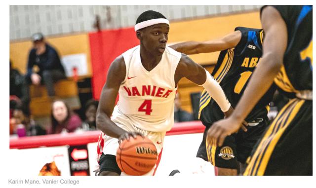 Vanier student Karim Mane is going to the NBA.