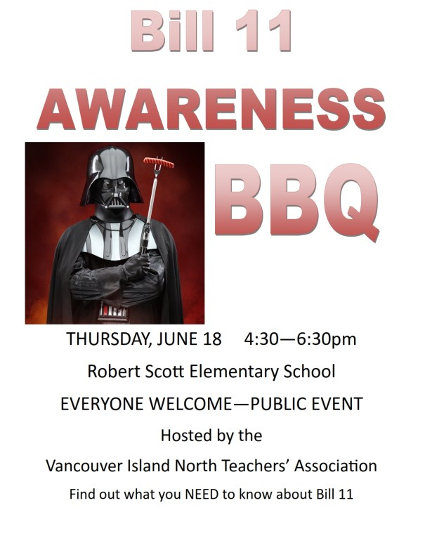 Free BBQ - Bill 11 Awareness - Everyone's Welcome!