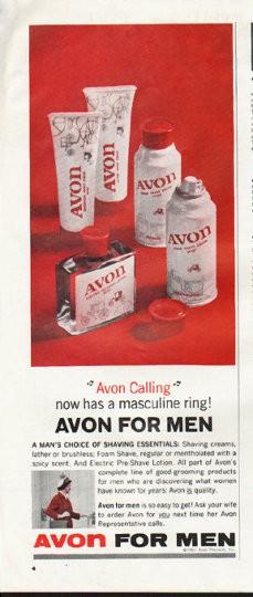 1964 Avon Vintage Ad Quot Avon Calling Quot