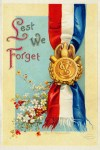 Patriotic Memorial Day Postcard