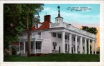 Historic Mt. Vernon Vintage Postcard