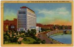 Vintage Postcard of the State of Ohio Office Building in Columbus