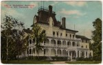 Vintage Postcard of the John D. Rockefeller Home in Cleveland, Ohio