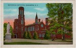 Smithsonian Institution Vintage Postcard
