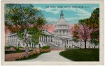 Vintage Postcard of The U.S. Capitol Building in Washington DC