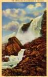 Bridal Veil Falls Vintage Niagara Falls Postcard