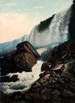 Cave of the Winds Vintage Niagara Falls Postcard